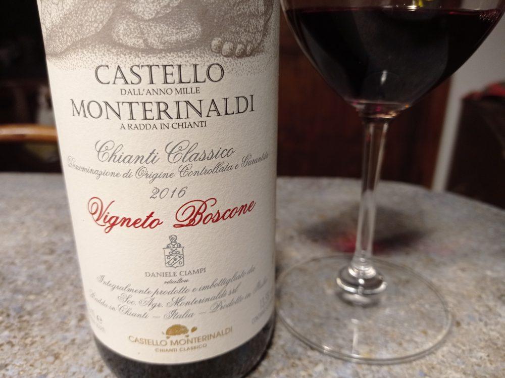 Castello Monterinaldi Vigneto Boscone 2016 Chianti Classico docg