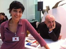 Barbara Guerra e Albert Sapere nel 2011