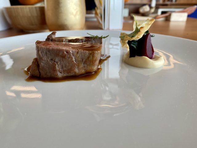 Contaminazioni Restaurant- Carra' d'agnello, rapa rossa e cumino