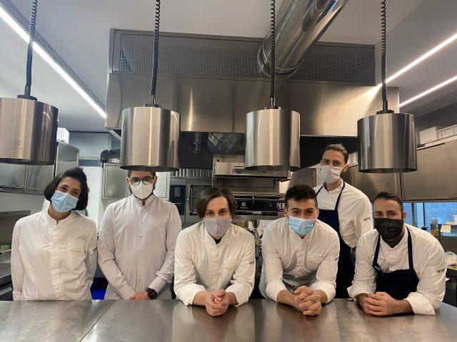 Contaminazioni Restaurant- Giuseppe Molare e la brigata