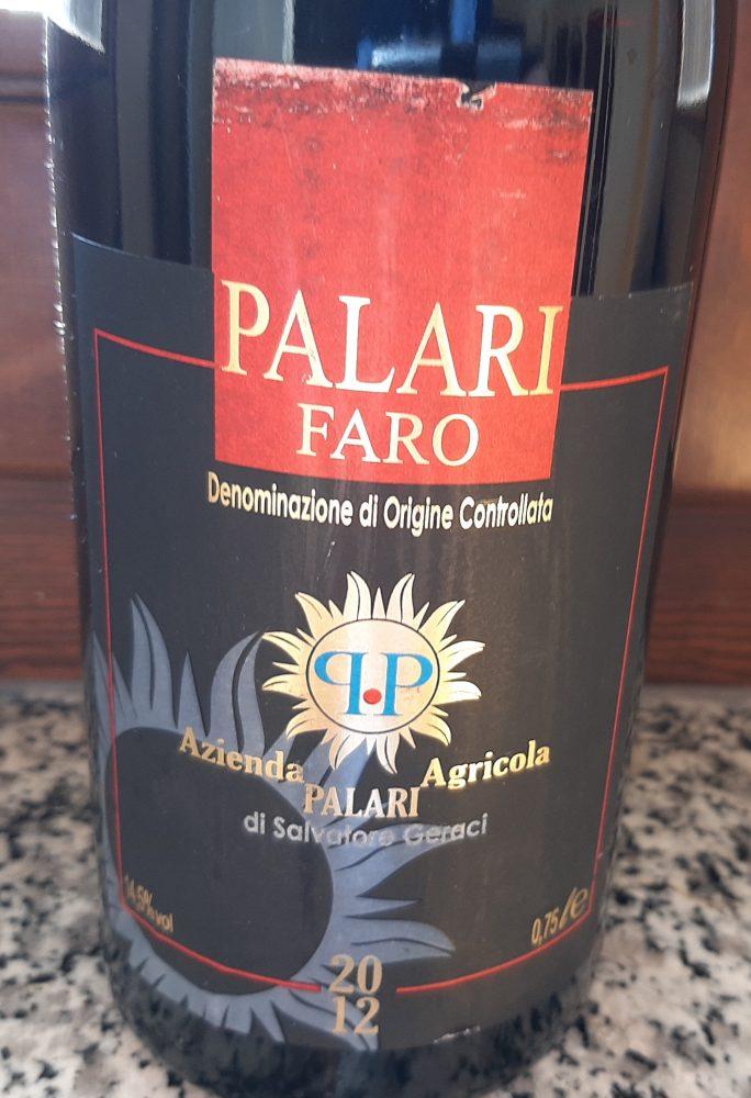 Faro Palari Doc 2012 Azienda Palari