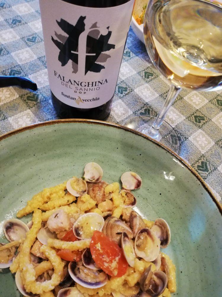Falanghina 2019 Fontanavecchia - Abbianamento con prima portata di pesce