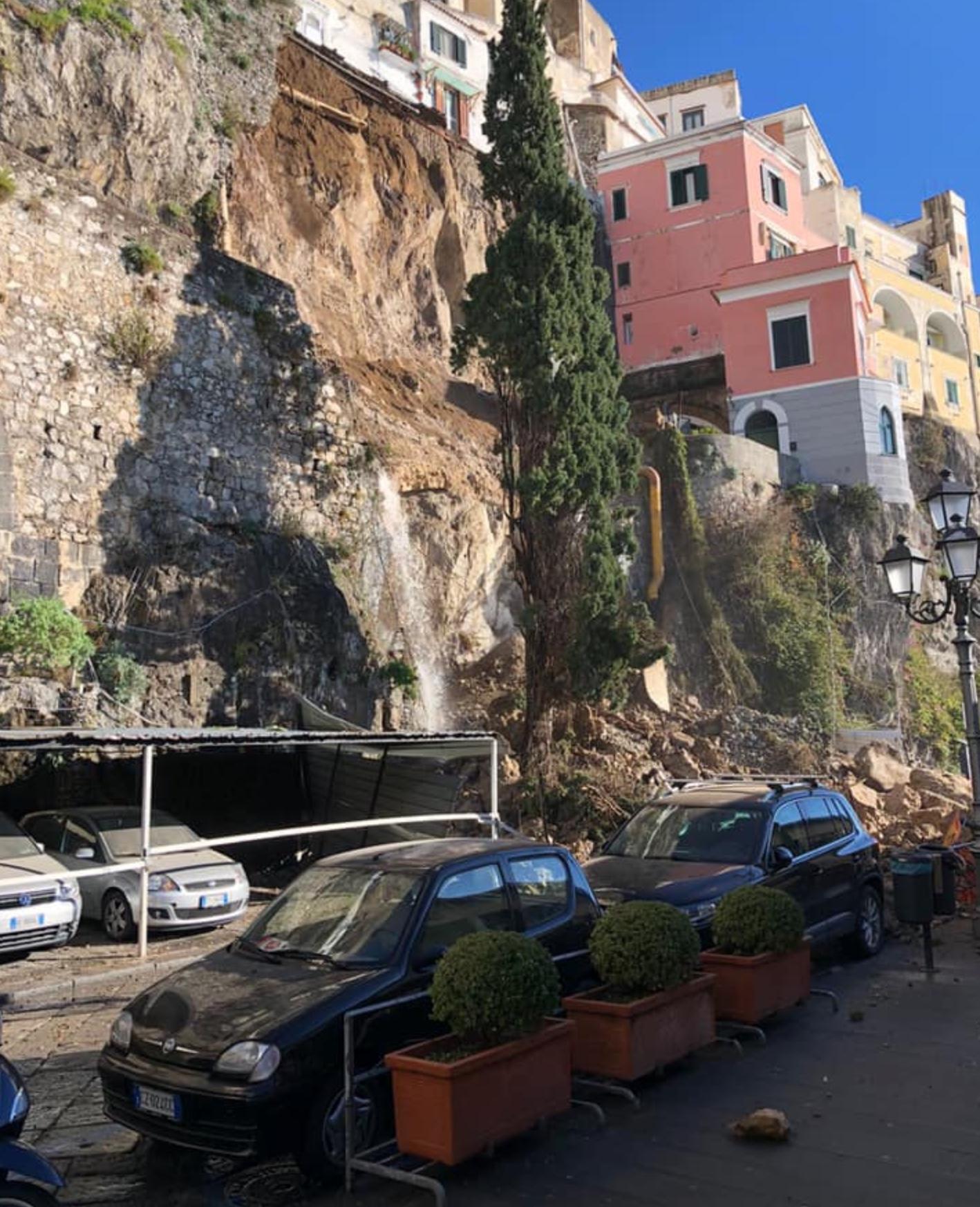 Distastro ad Amalfi
