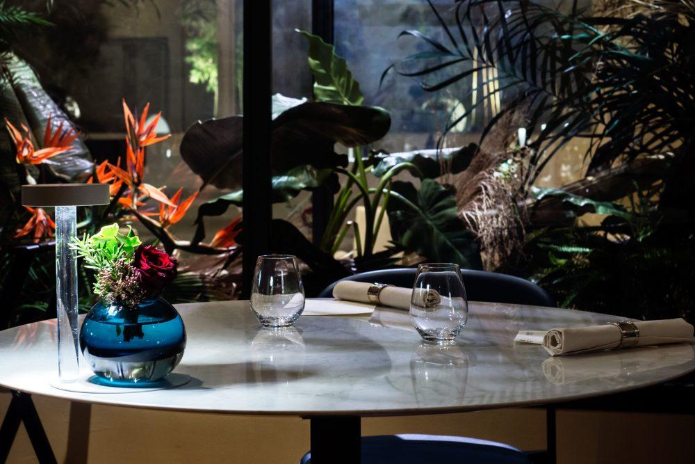 i Portici , la tavola