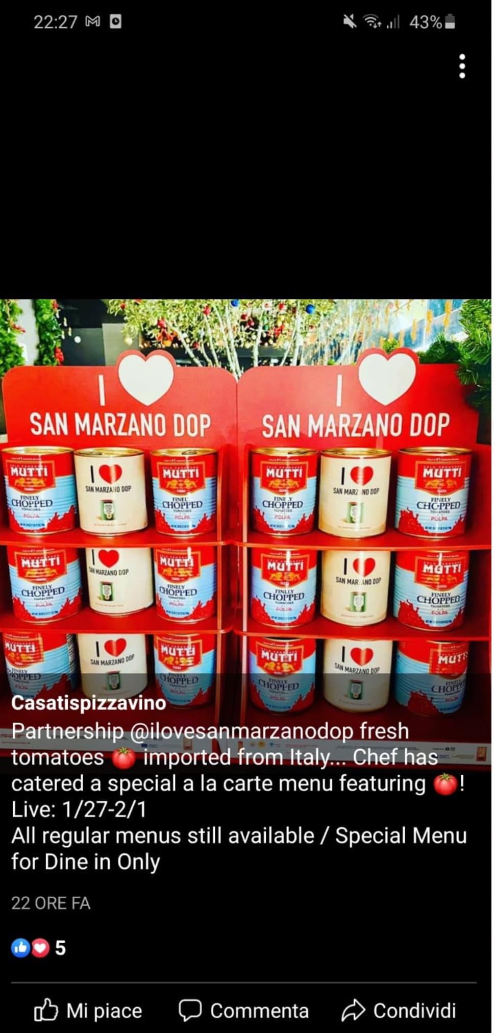 I love san marzano