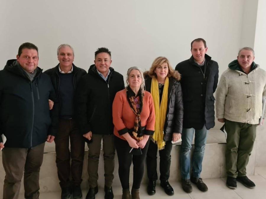 I rappresentanti del Distretto Agroalimentare di Qualita' del Limone Costa d'Amalfi IGP