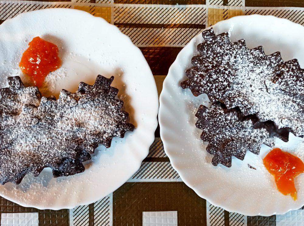 La Fattoria del Melopiano - Le chiacchiere artigianali al cioccolato con Marmellata di Albicocche