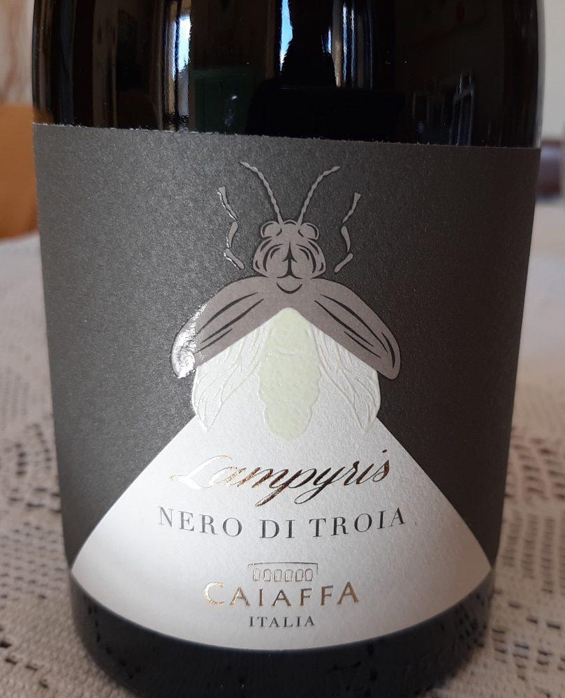 Lampyris Nero di Troia Puglia Igt 2015 Caiaffa