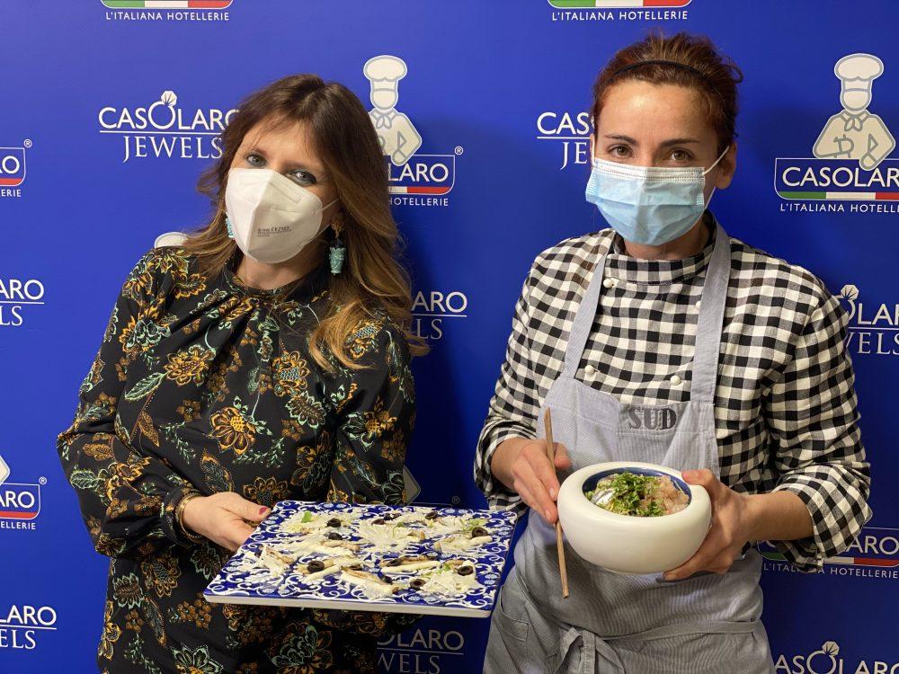 Maria Vittoria Casolaro e Marianna Vitale
