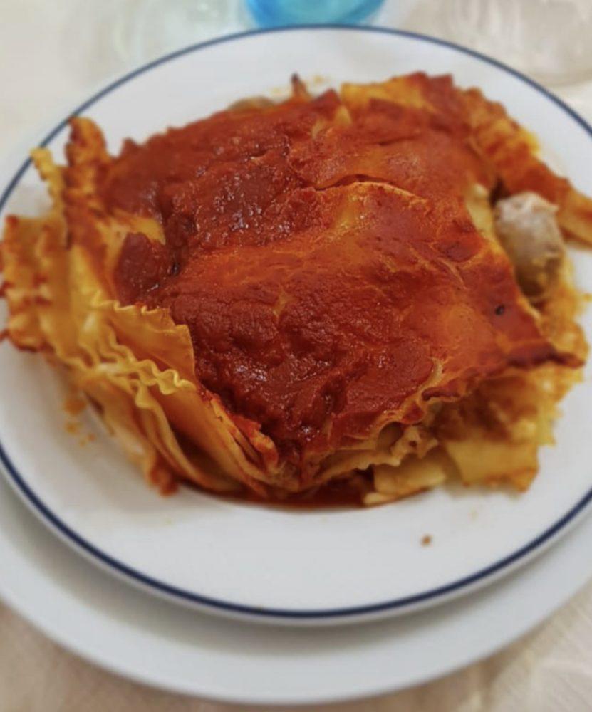 Osteria Rispoli - lasagna