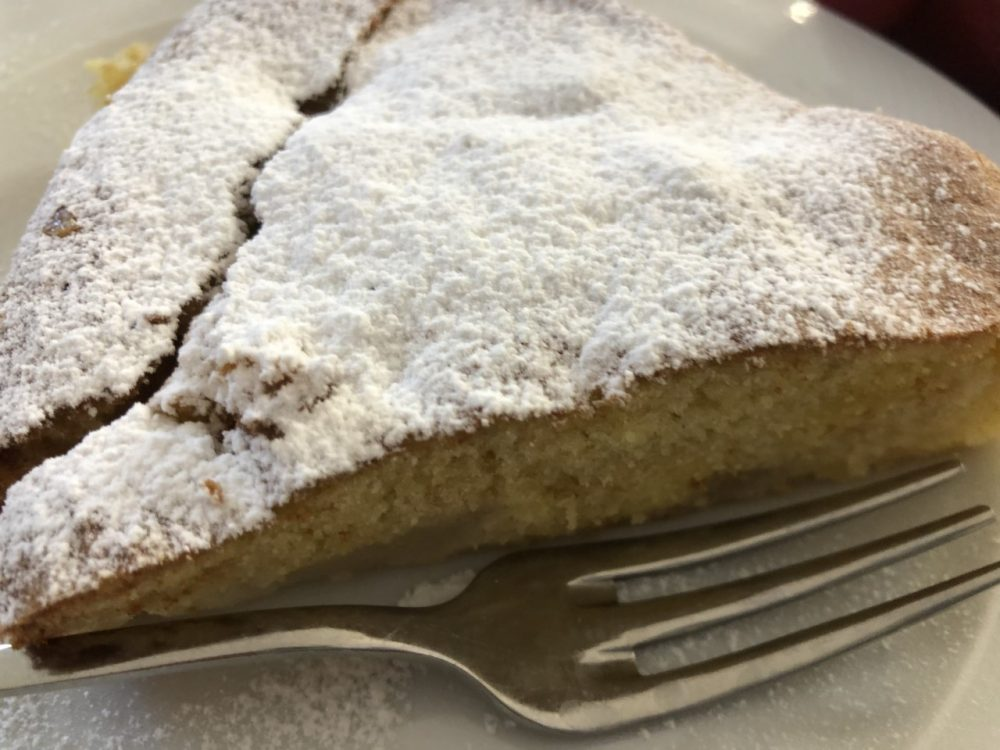 Osteria Rispoli - torta alle pere
