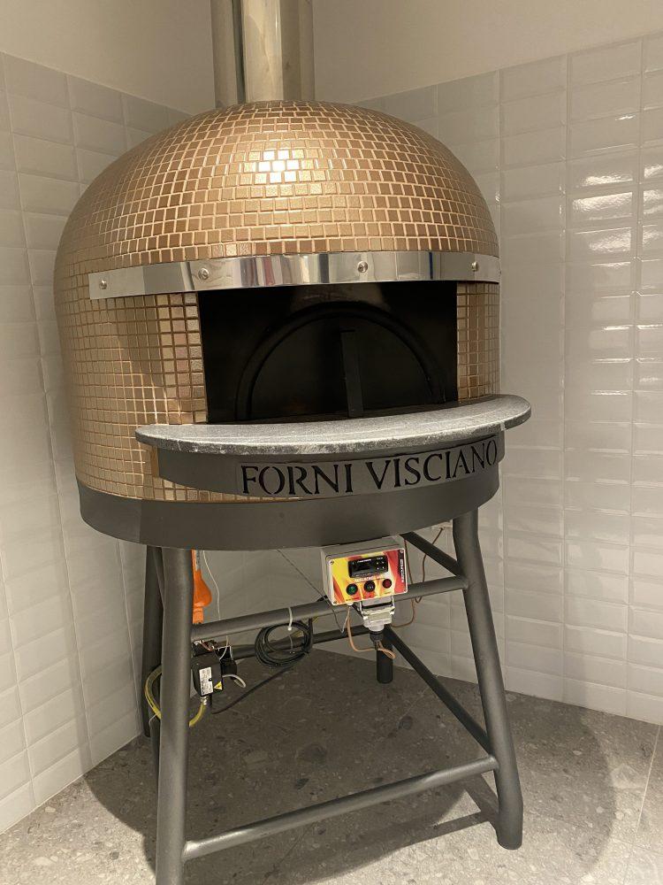 Pizzeria Giovanni Grimaldi- forno dedicato al senza glutine