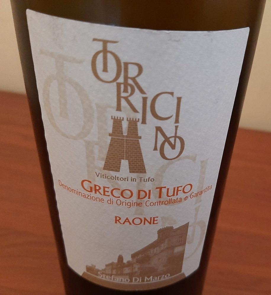 Raone Greco di Tufo Docg 2015 Torricino