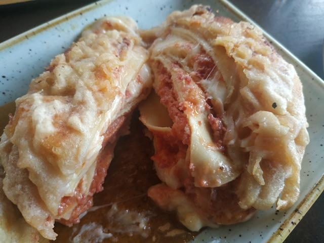 Sant'Isidoro Pizza & Bolle - Ostiense - frittatina di lasagna