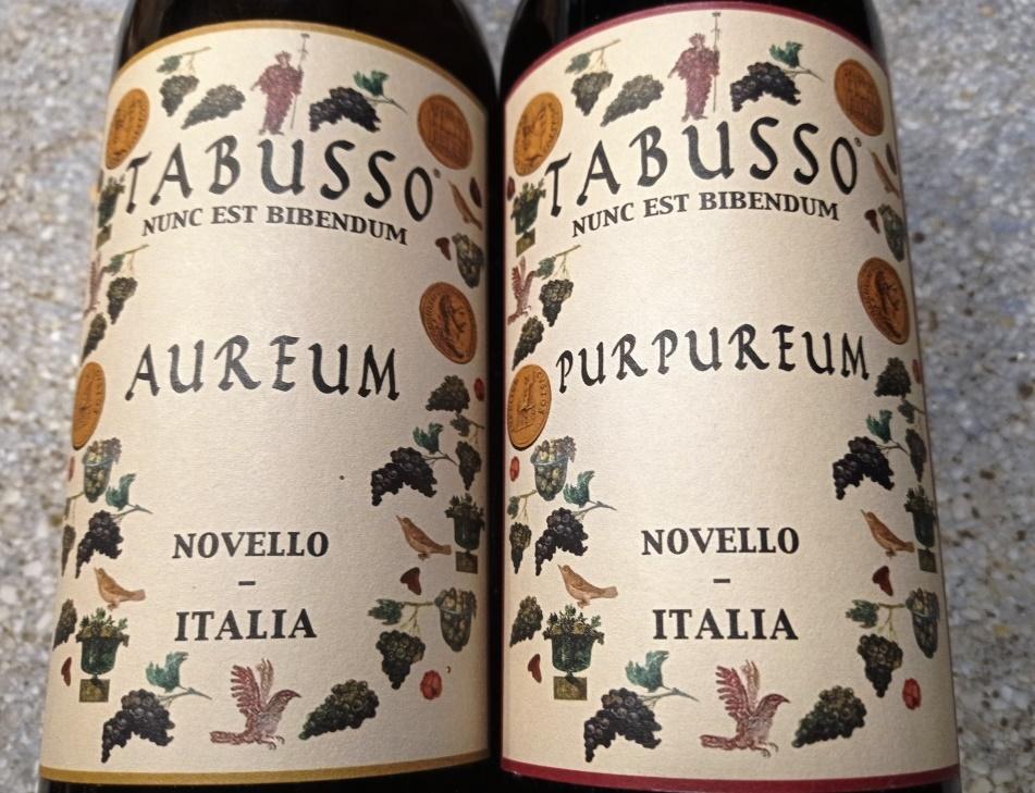 Tabusso - Purpureum e Aureum