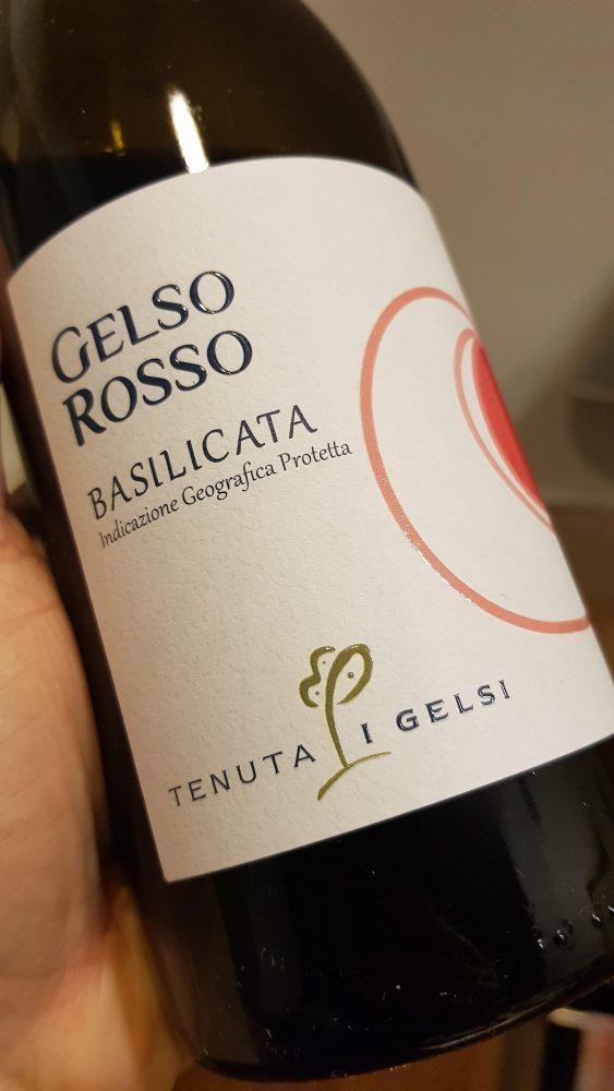 Tenuta i Gelsi - Basilicata Rosso IGT Gelso Rosso 2019