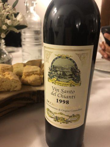 Vin Santo del Chianti 1998 Occhio di Pernice Innocenti