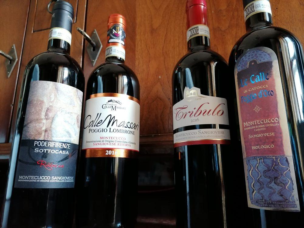 Montecucco - vini in degustazione