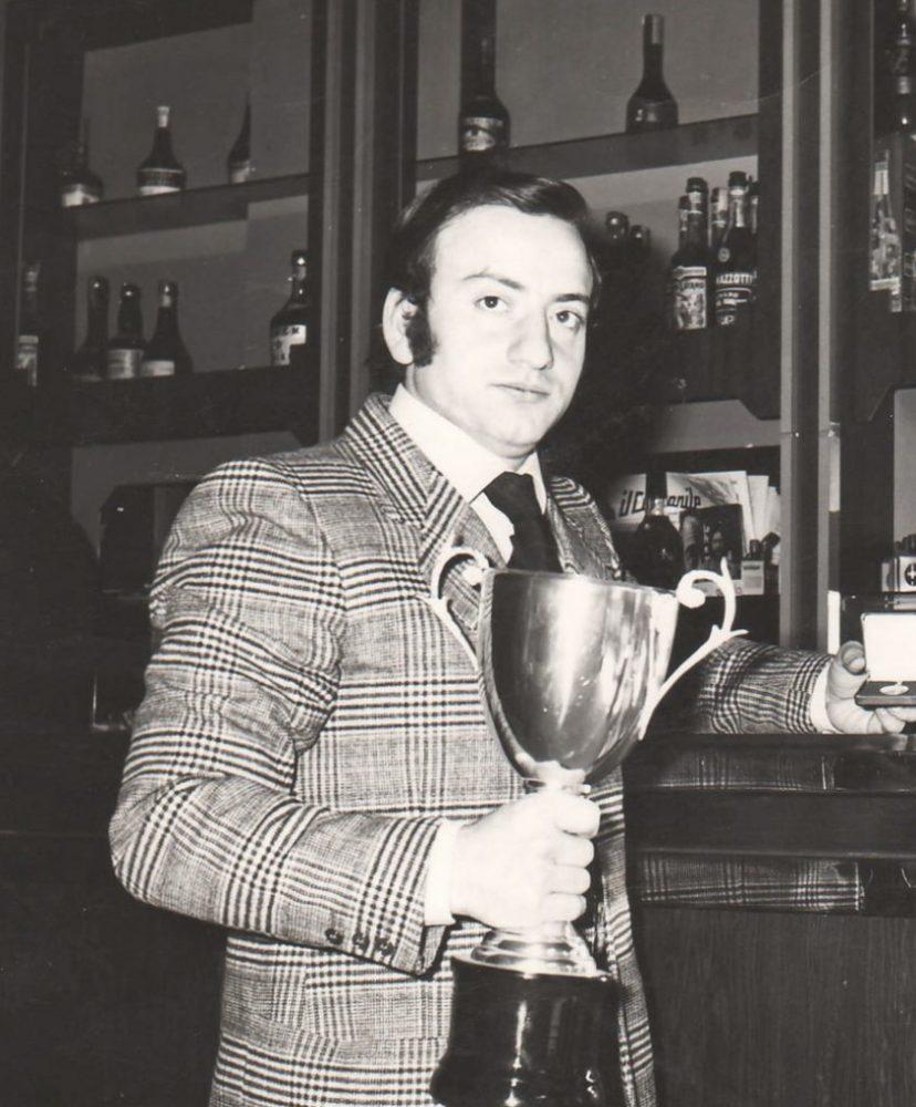 Angelo Vignola, da giovane