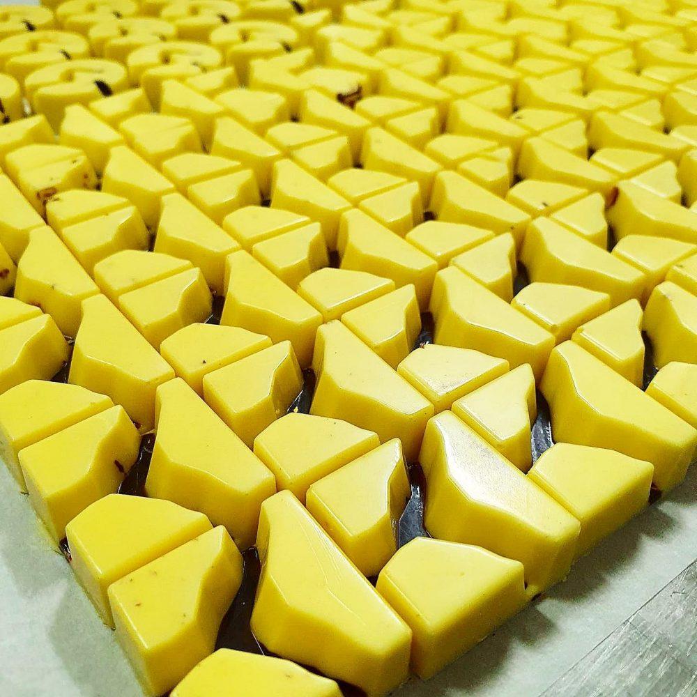 Cioccolato artigianale giallo - Caffe manari