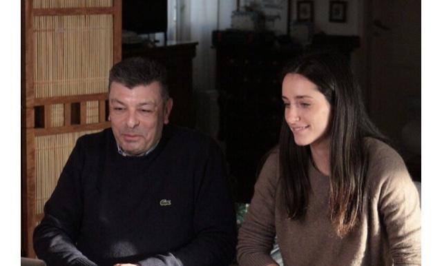 Federico Latteri che ha presentato la degustazione con Enrica Spadafora