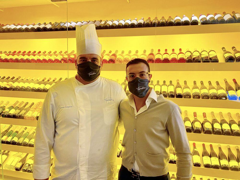 Chef Costagliola e Giancarmine Cotugno