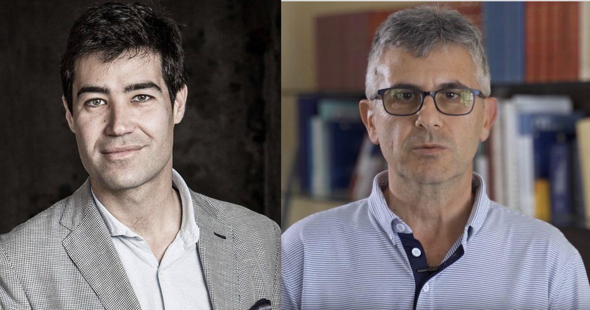 Gabriele Gorelli e Piero Mastroberardino