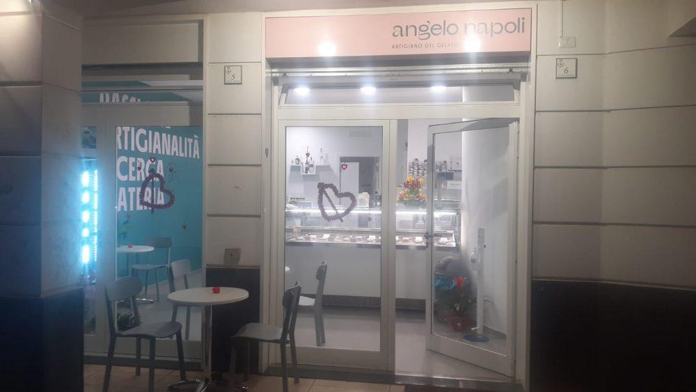 Gelateria Angelo Napoli - ingresso