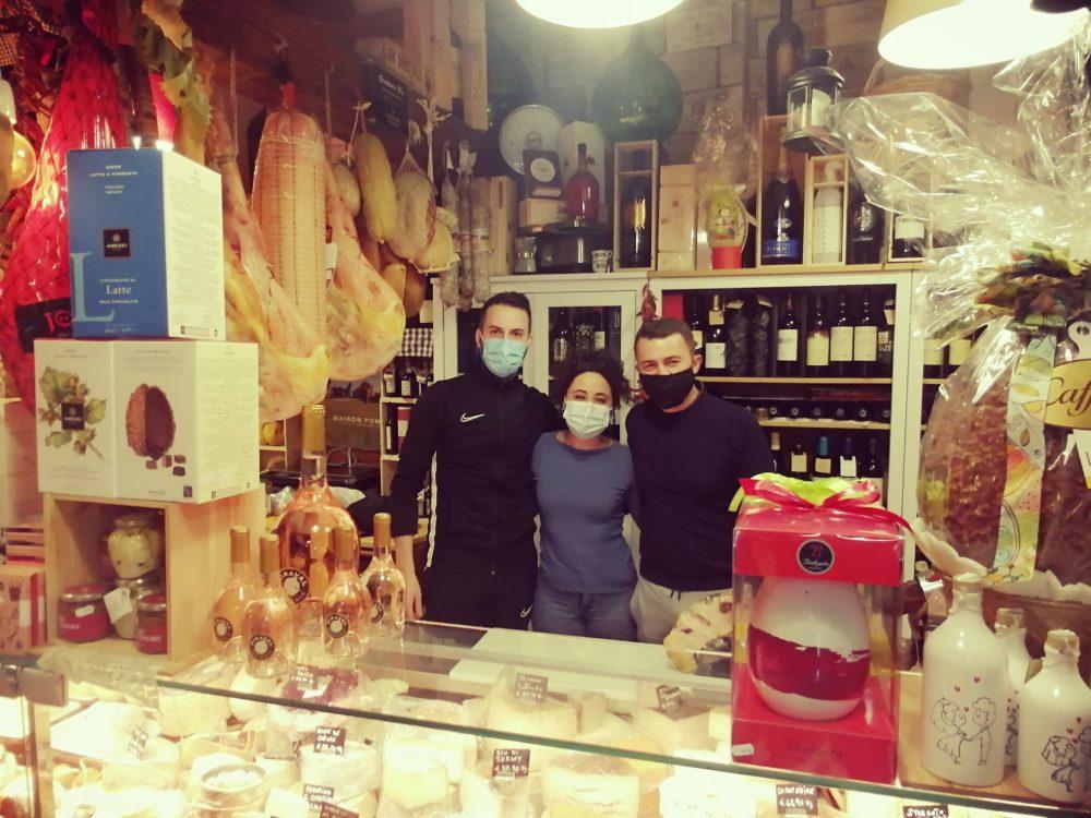 Grappolo blu - Daniele, Teresa, Salvatore