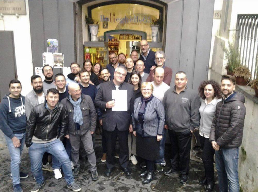 Corso maestri assaggiatori di Salerno