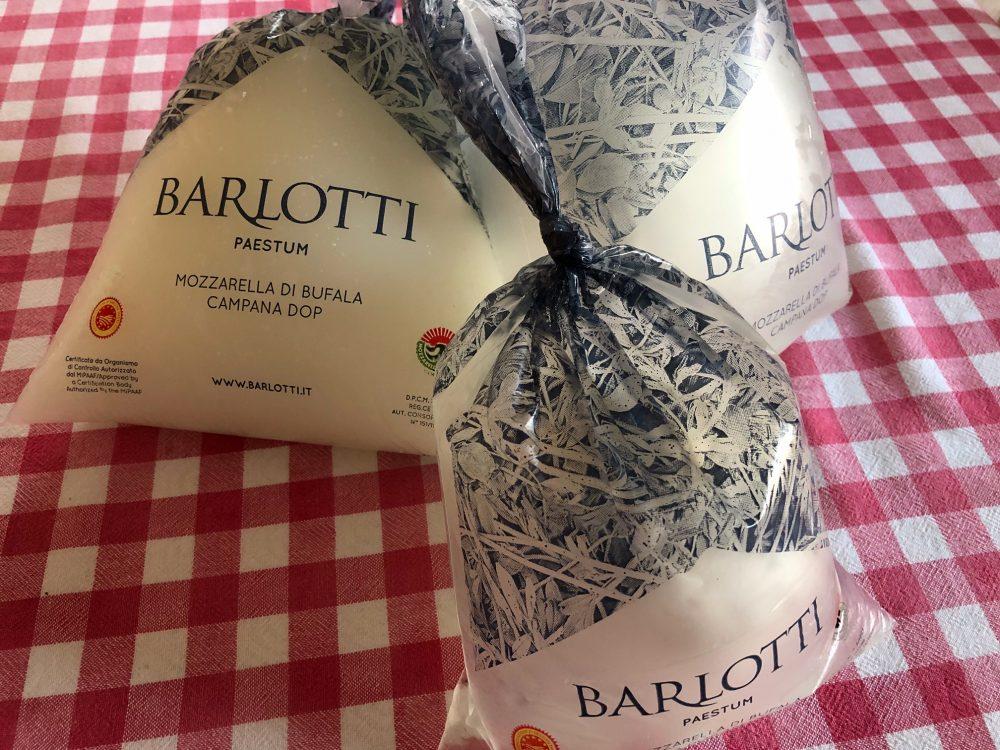 Le mie mozzarelle del Caseificio Barlotti