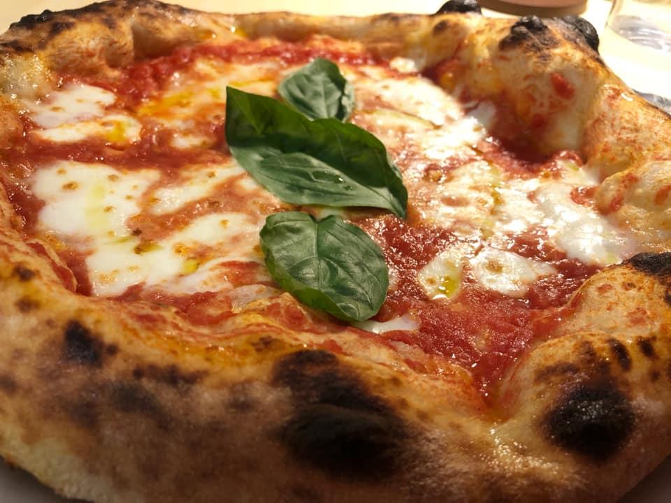 Pizzeria Granai, la margherita