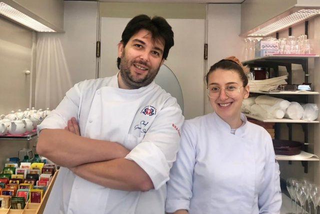 Sofia Pierantozzi e Gino Stella