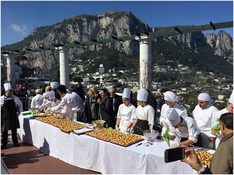 Zeppolata Capri 2018
