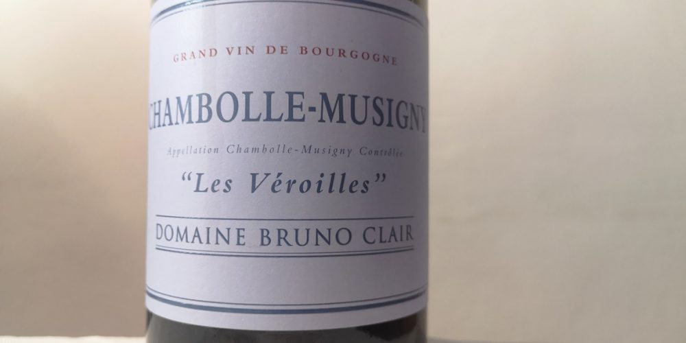 Chambolle-Musigny les Véroilles 2016, Bruno Clair