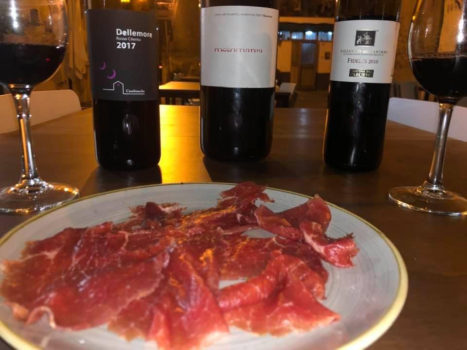 Carni pregiate - vini degustati