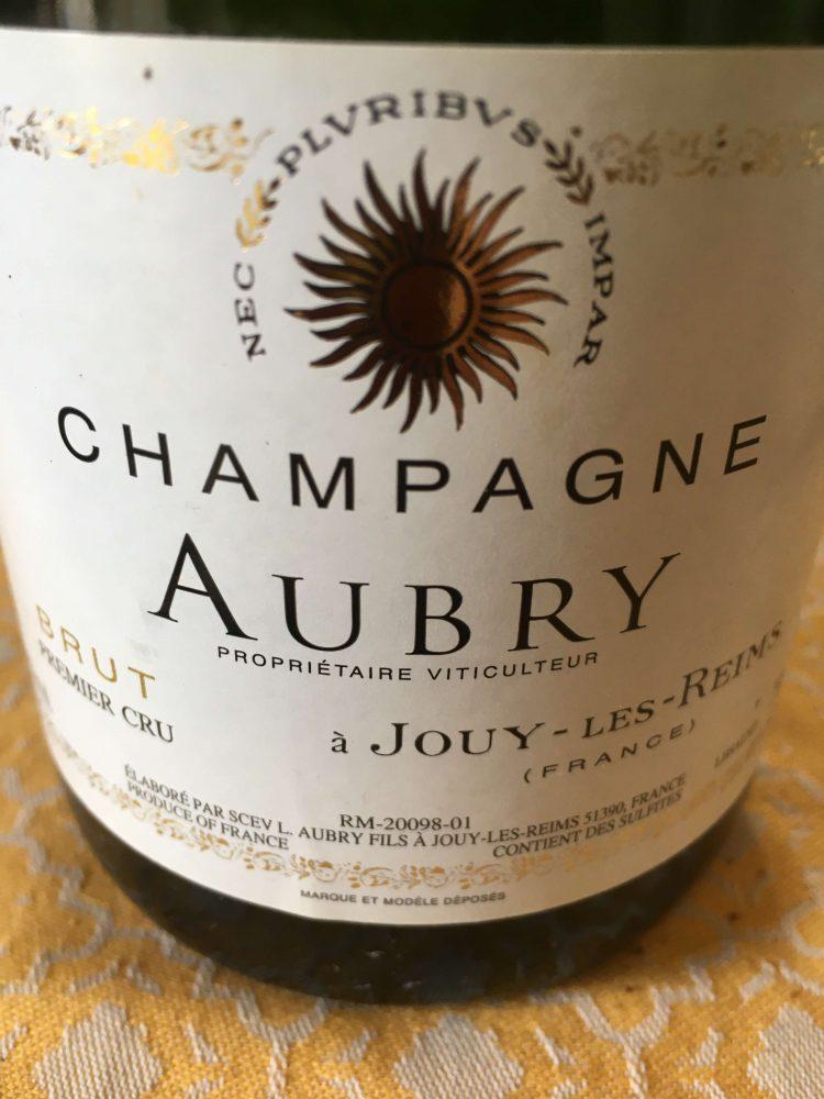 Champagne Aubry - etichetta