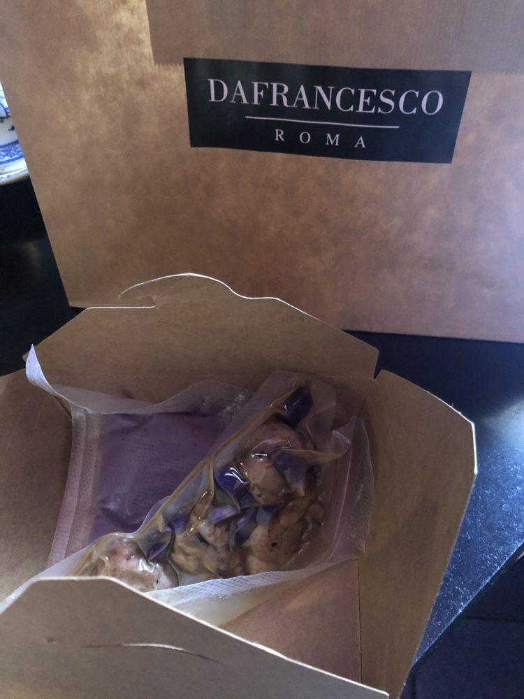 Delivery da comporre a casa di Osteria Da Francesco- Roma
