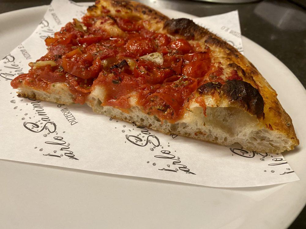 Forno 2.0 Sammarco - sezione della pizza