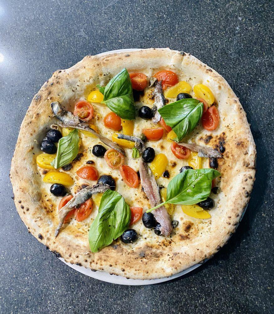 Il Monfortino - Pizza Marinara rivisitata