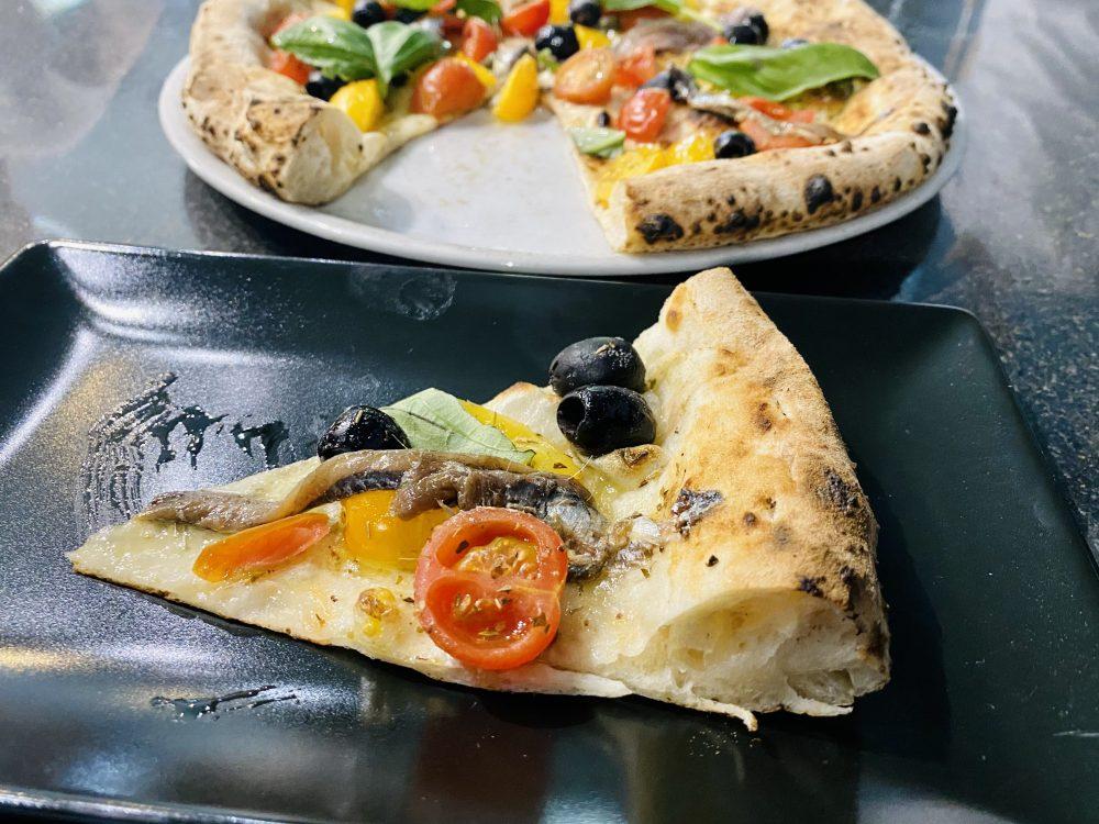 Il Monfortino - Sezione della pizza