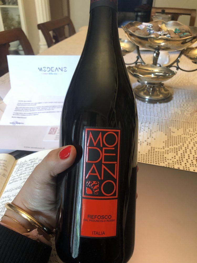 Modeano Friuli DOC Refosco Dal Peduncolo Rosso 2018