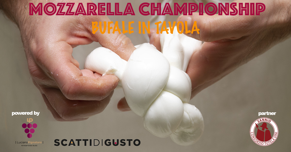 Mozzarella Championship Bufale in tavola