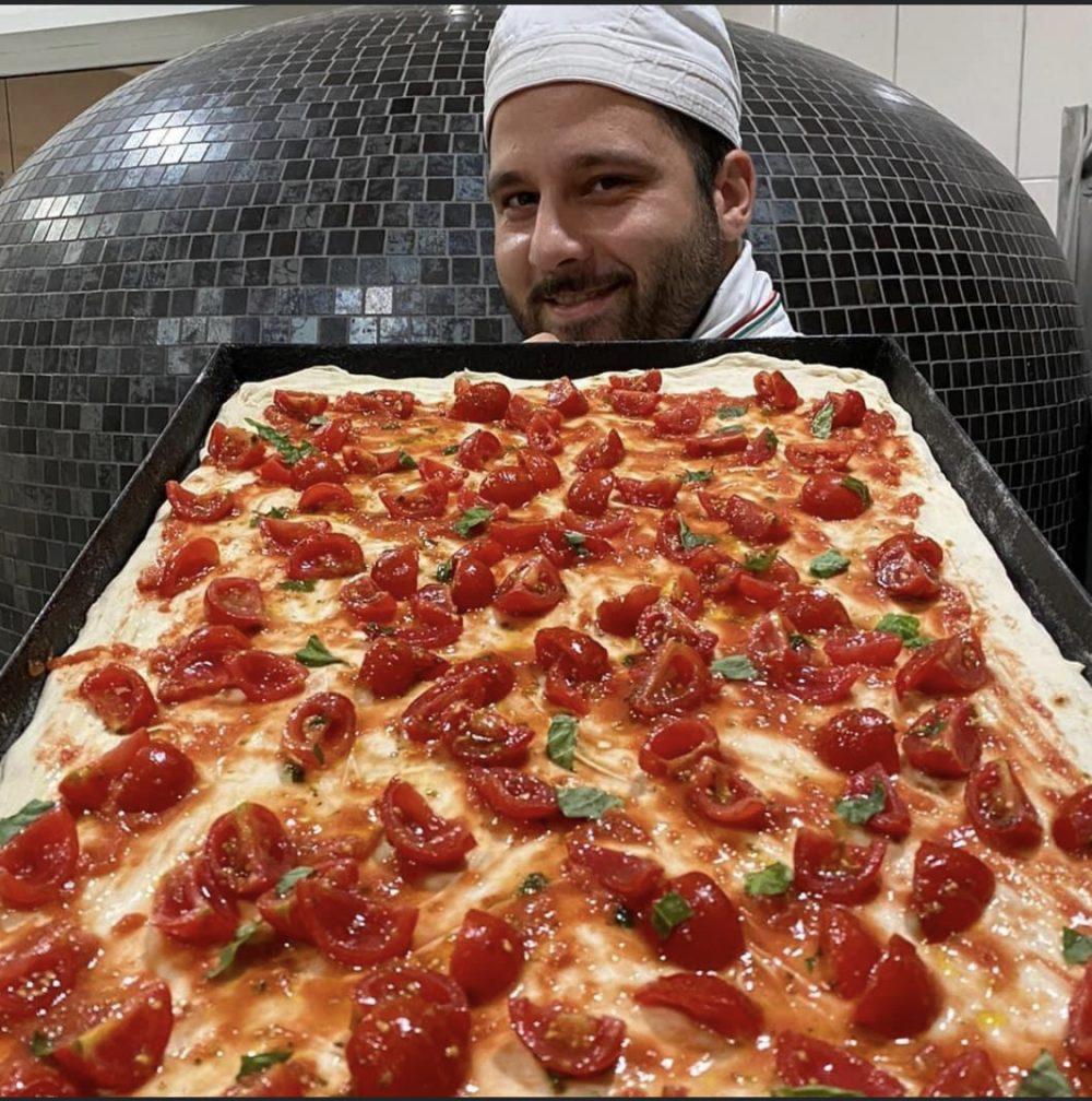 Pizza in teglia - Cosimo Chiodi