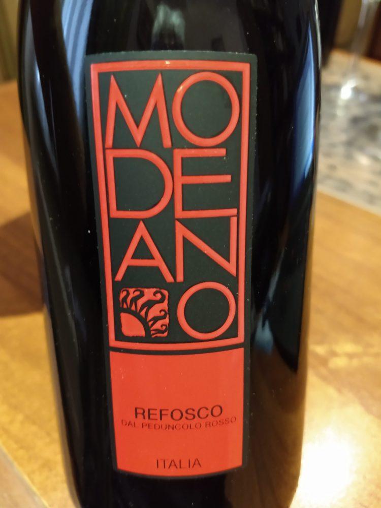 Refosco dal Peduncolo Rosso – Modeano