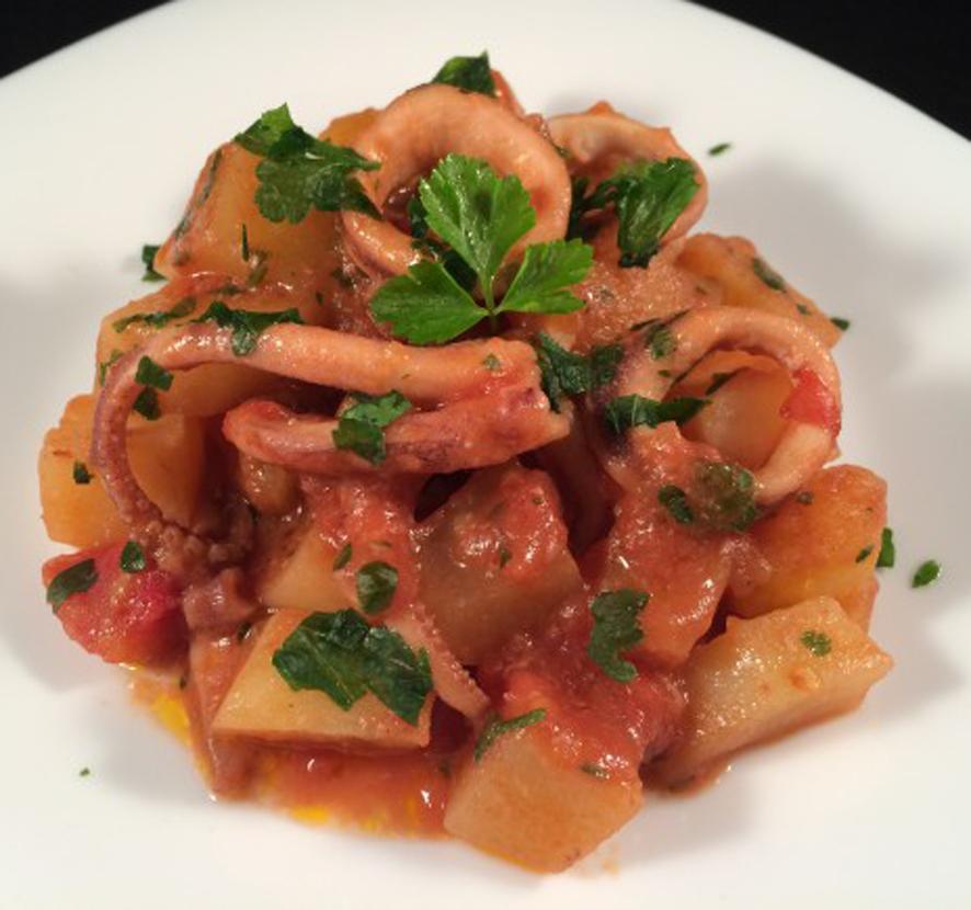 Totani e patate - Capri press