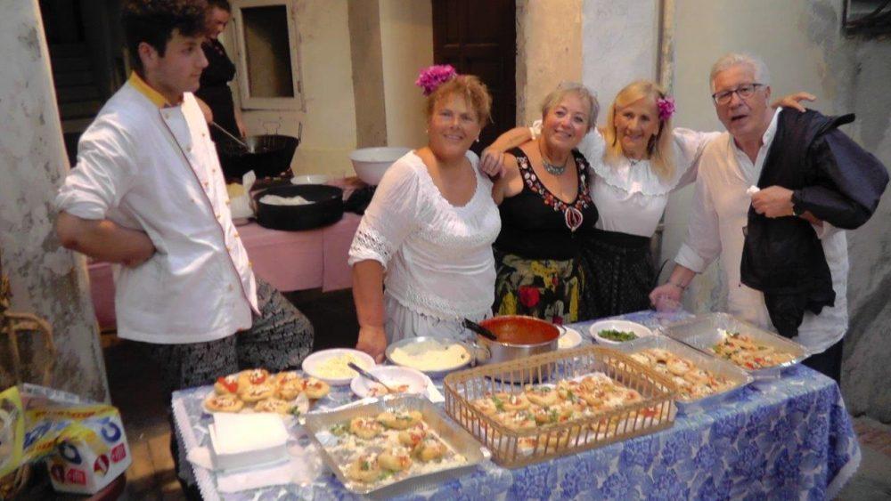 Le pizze campagnole di Anacapri con Peppino di Capri