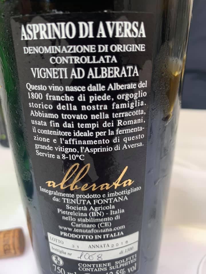 Osteria di Pescheria - vino controetichetta