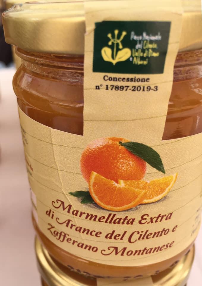 Rareche, marmellata di arance e zafferano del Cilento