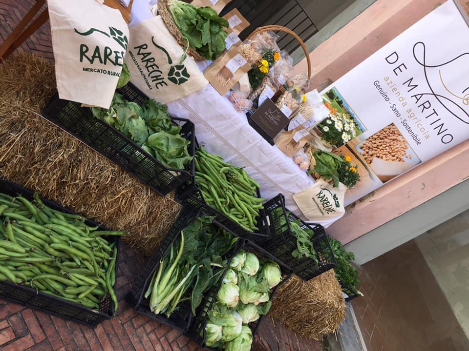 Rareche, ortaggi e pasta da grano sostenibile